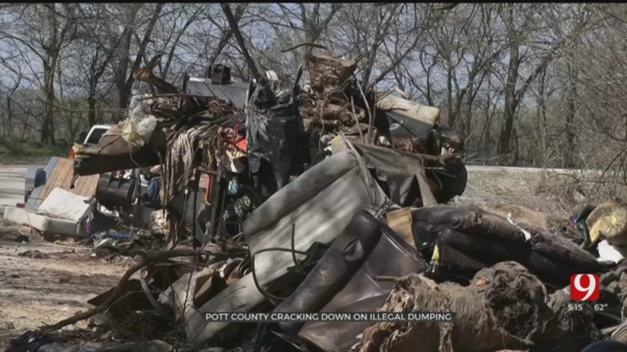 Nearly 60 Tons Of Illegally Dumped Trashed Cleaned Up In Pottawatomie County
