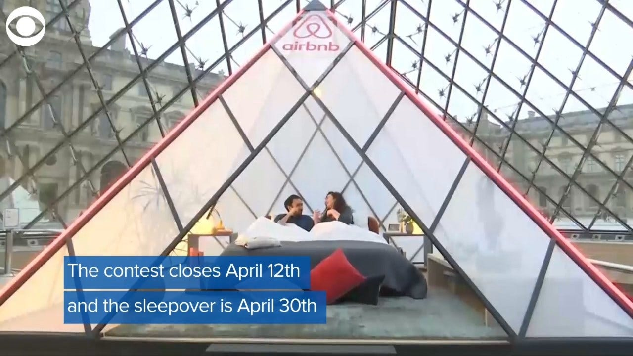 Airbnb Partners With Museum For Louvre Experience
