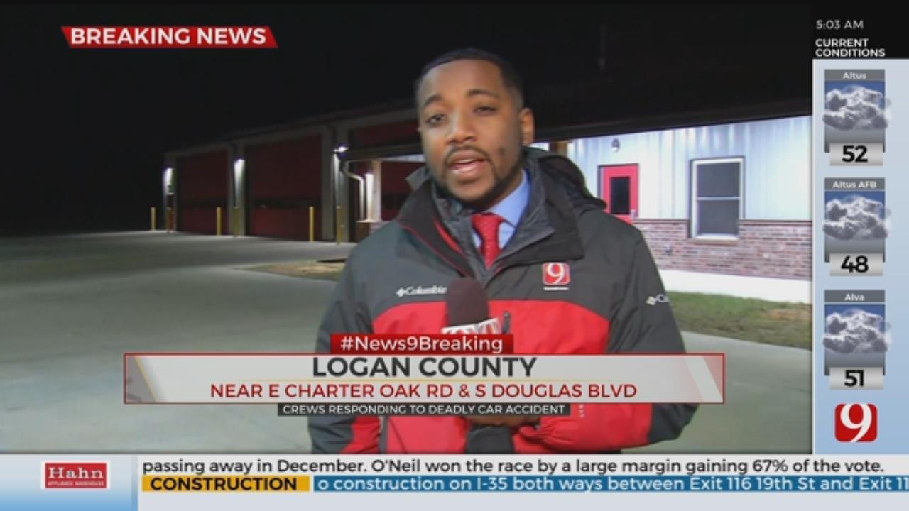 1 Dead Following Crash In Logan County