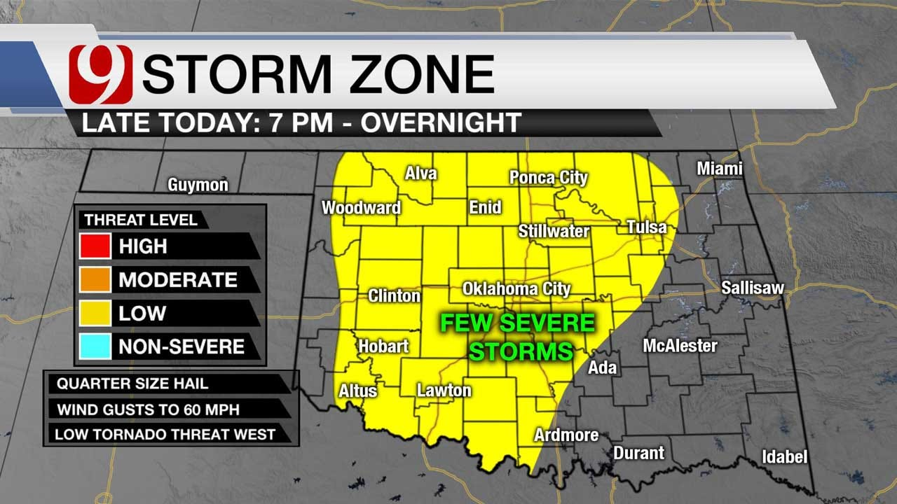 Storms Expected To Move In Wednesday Night, Early Thursday