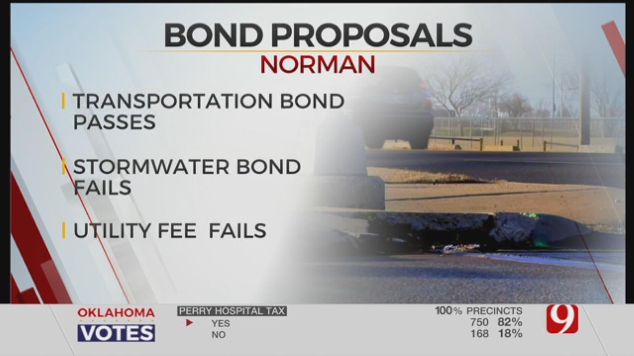 Norman Voters Pass Transportation Bond, Reject Stormwater Improvement Bond