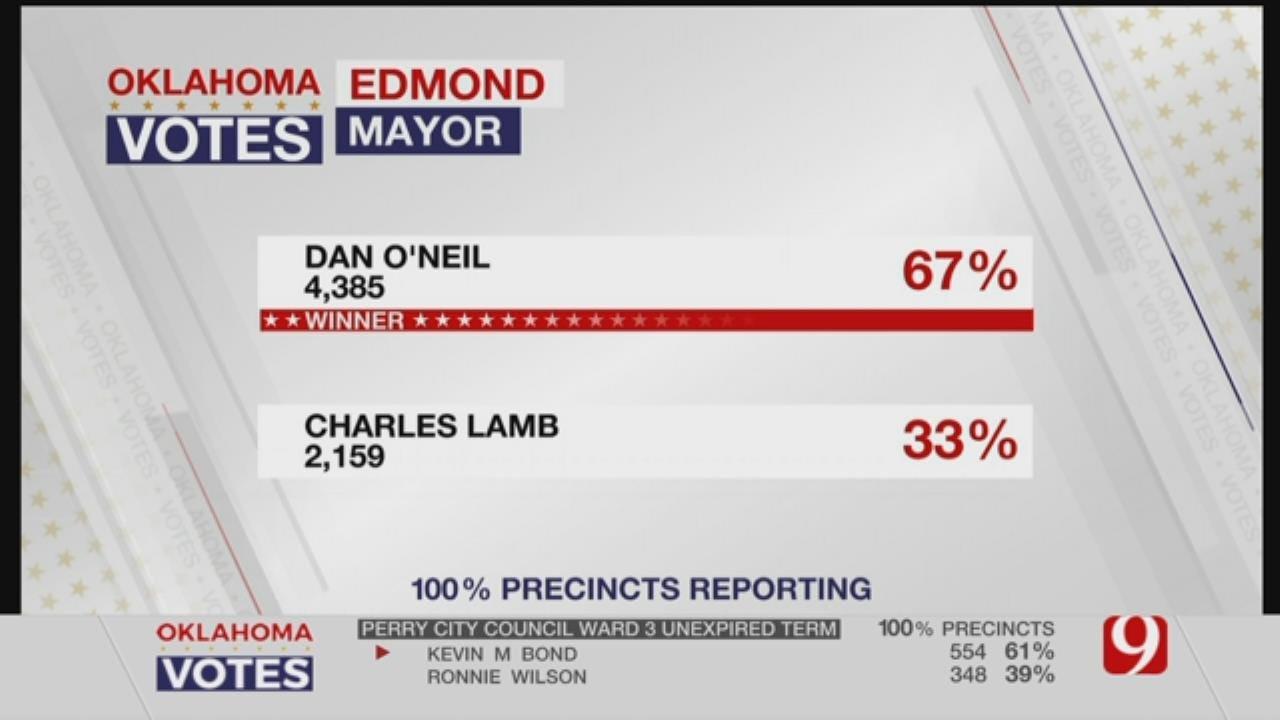 Dan O'Neil Elected As New Edmond Mayor