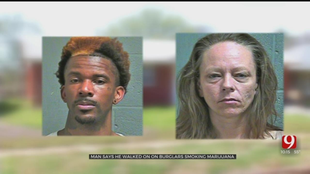 Man Says He Found Suspects Burglarizing Home, Smoking Marijuana In S. OKC