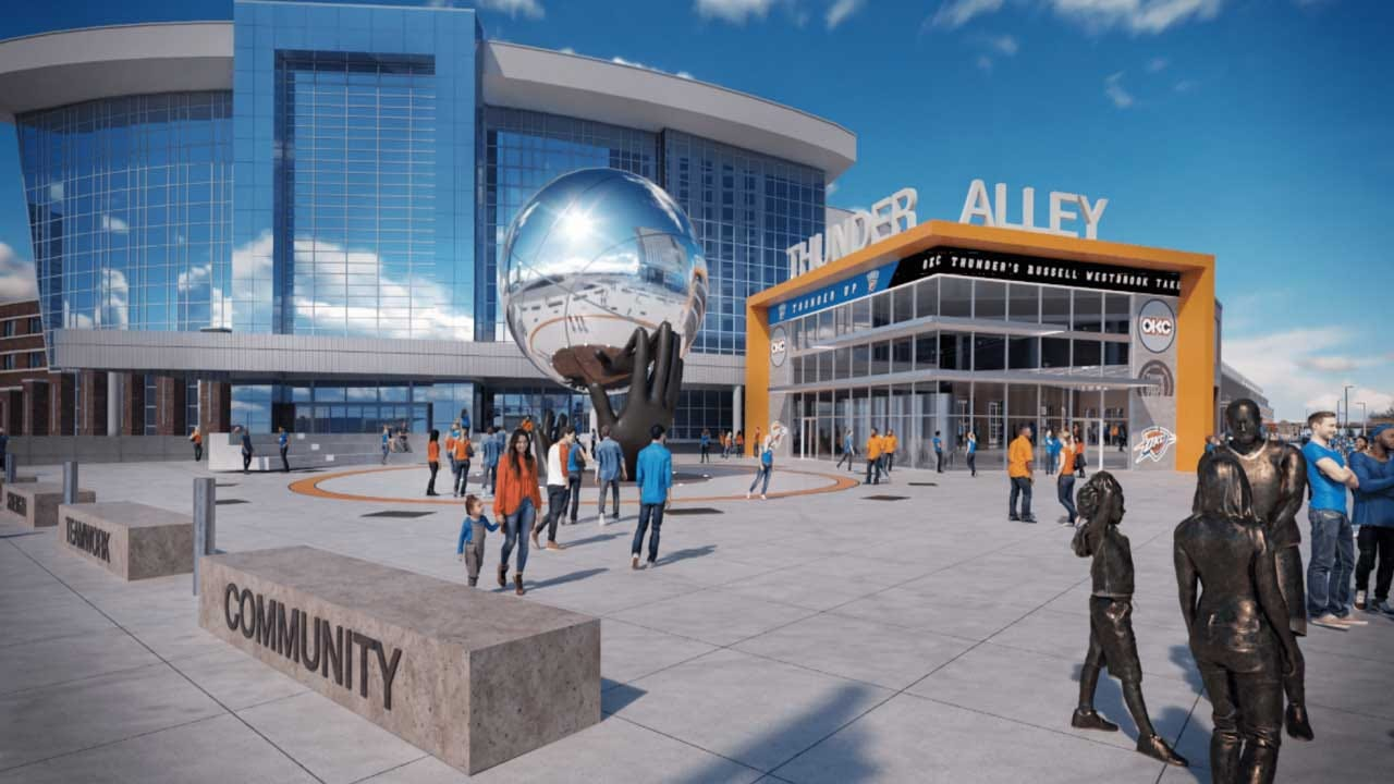 OKC Thunder Plans Changes For Thunder Alley