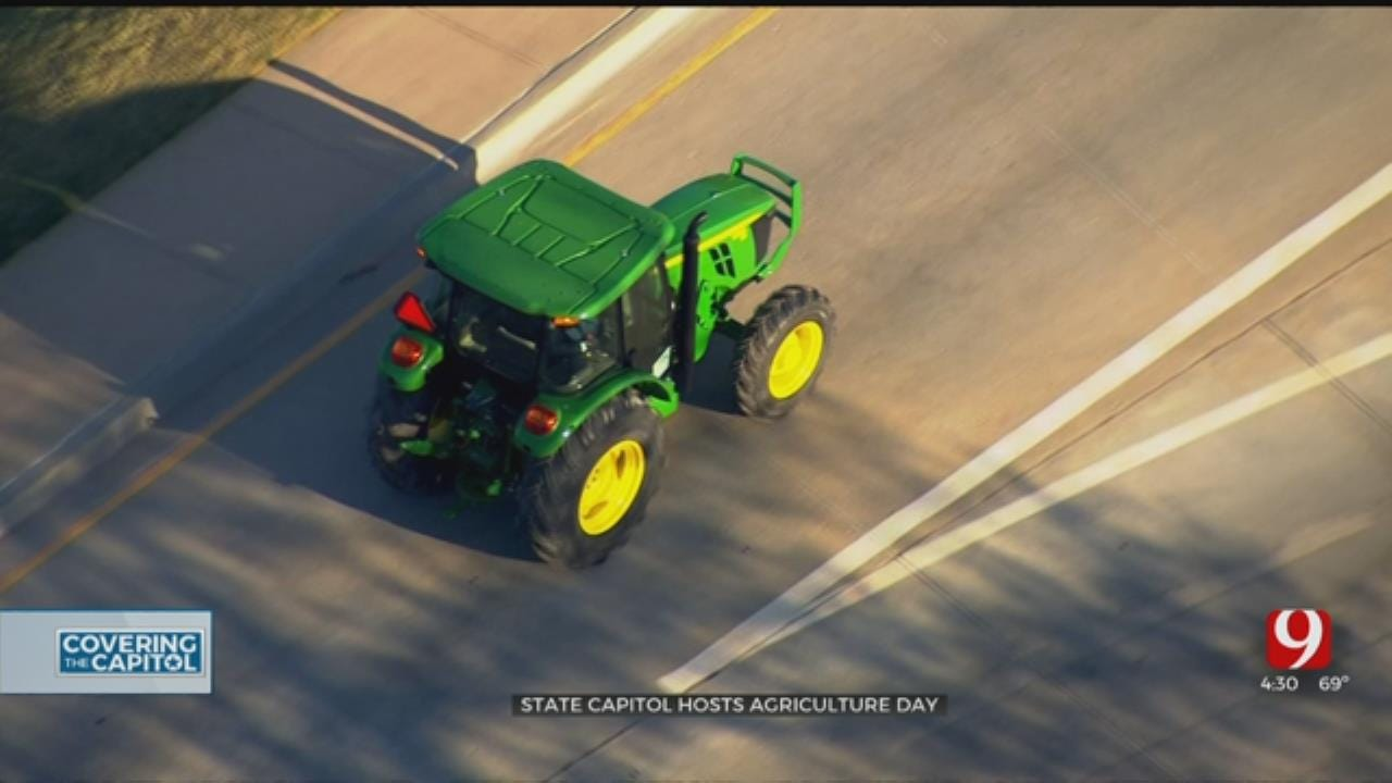 Oklahoma Celebrates The Agricultural Industry At State Capitol