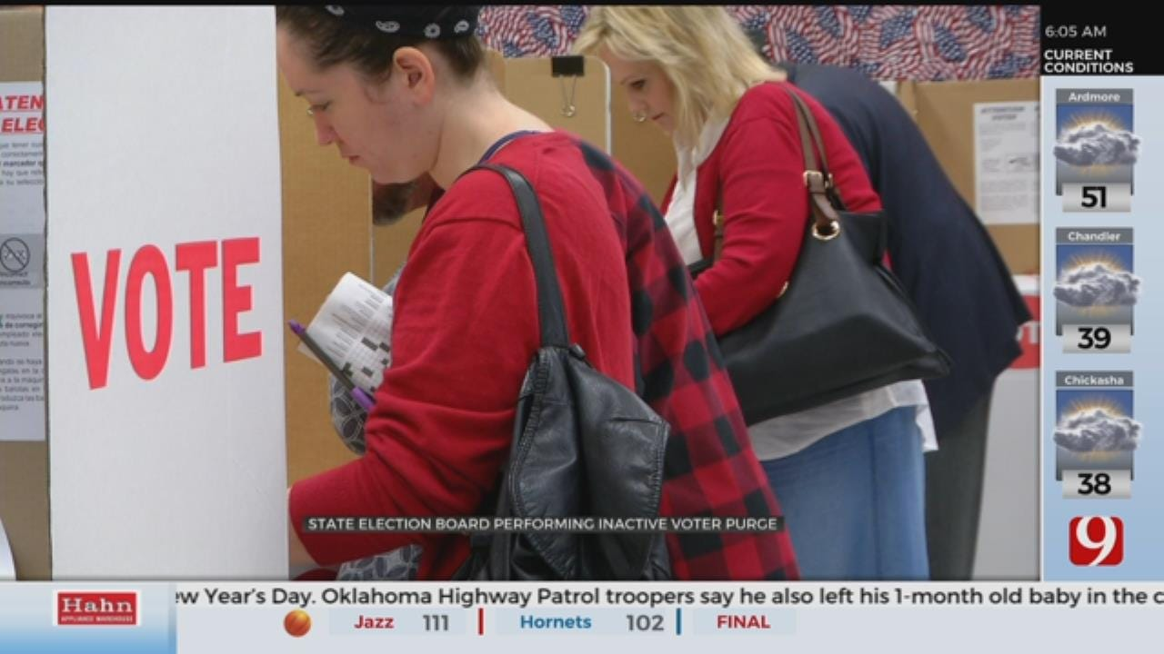 State Election Board Performing Inactive Voter Purge