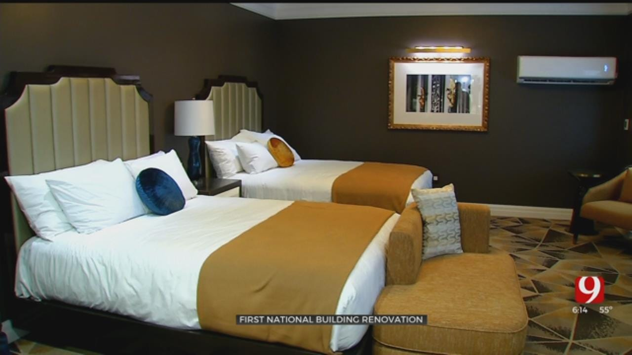 Developer Gives First Look At Hotel Rooms, Apartments At First National In OKC