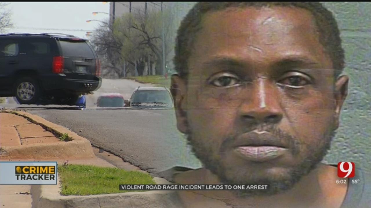 OKC Road Rage Suspect Strikes Man With Bat, Threatens Couple With Knife And Gun