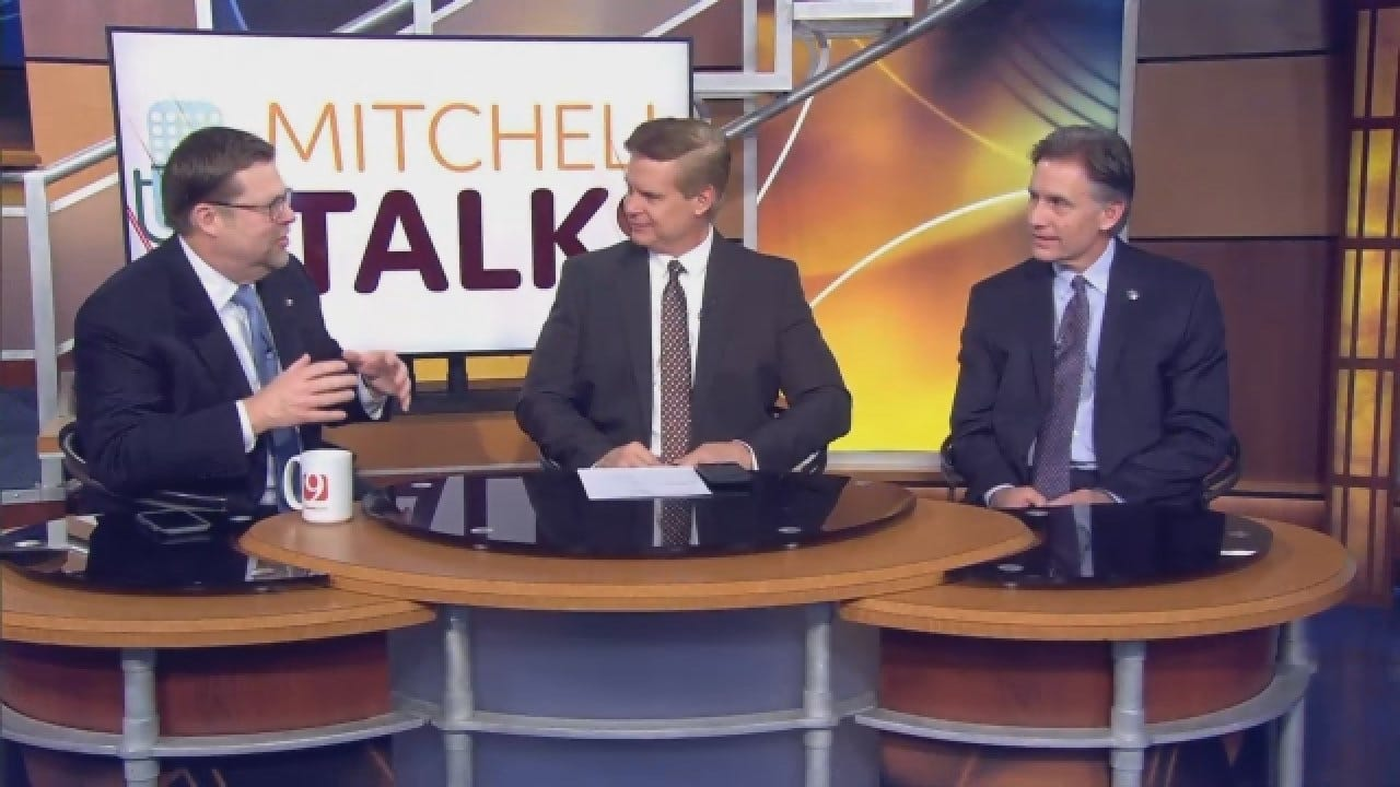 Mitchell Talks: Oklahoma Attorney General Mike Hunter Talks About Opioid Lawsuit Settlement
