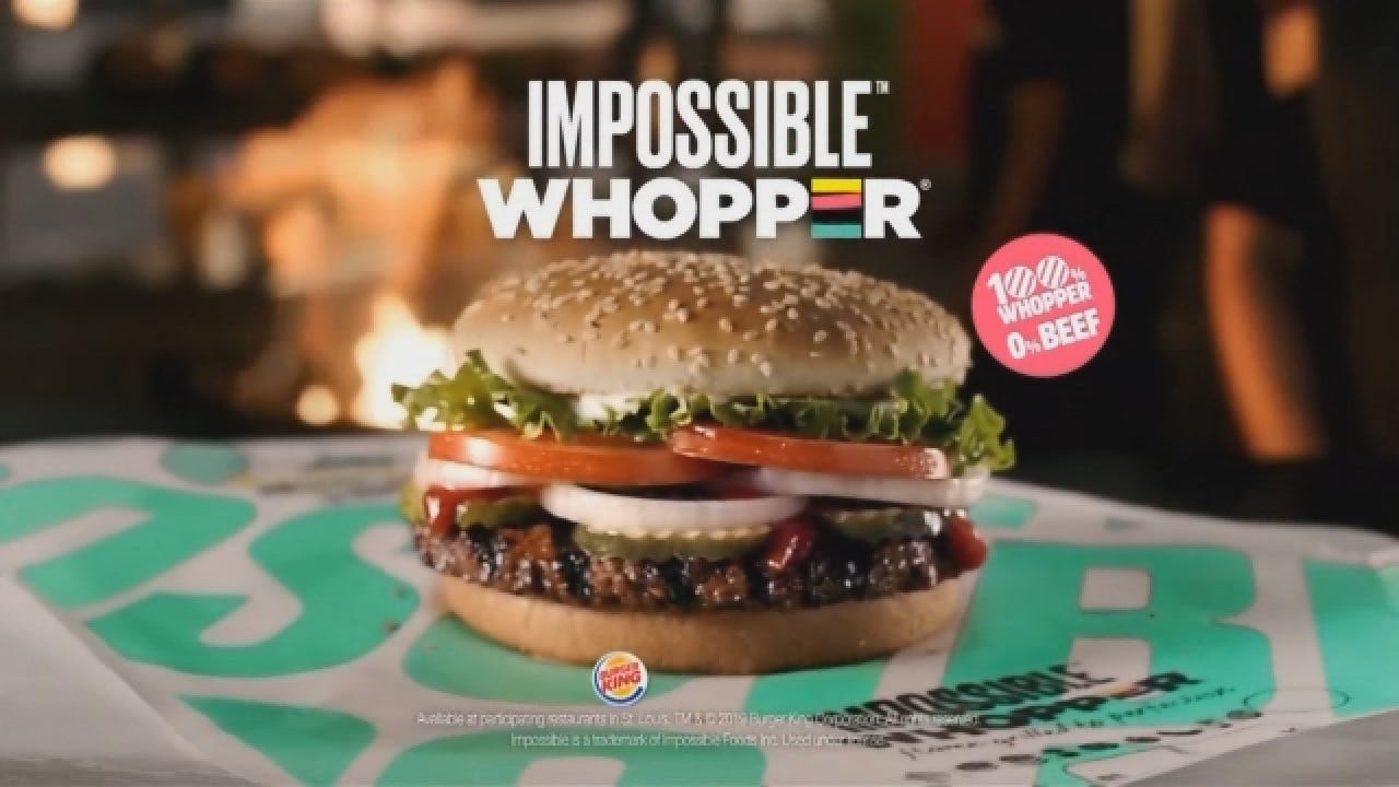 Burger King Testing Meatless Whoppers