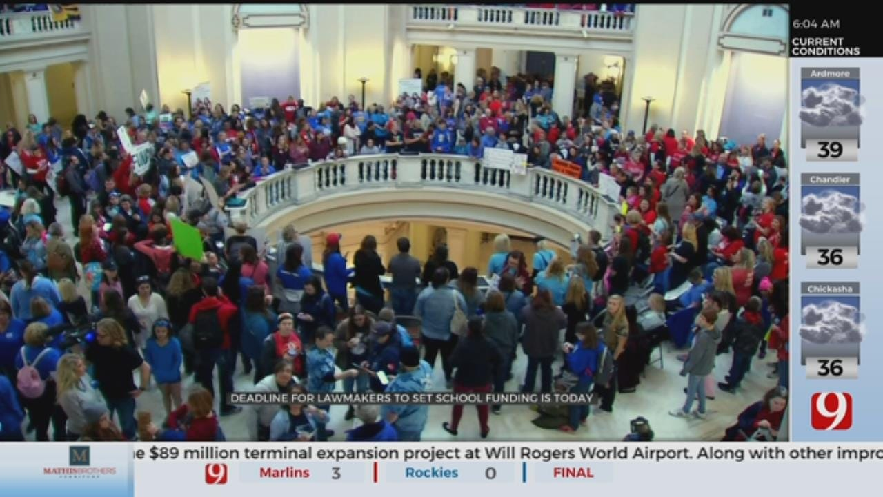 Deadline Approaching For Lawmakers To Set School Funding