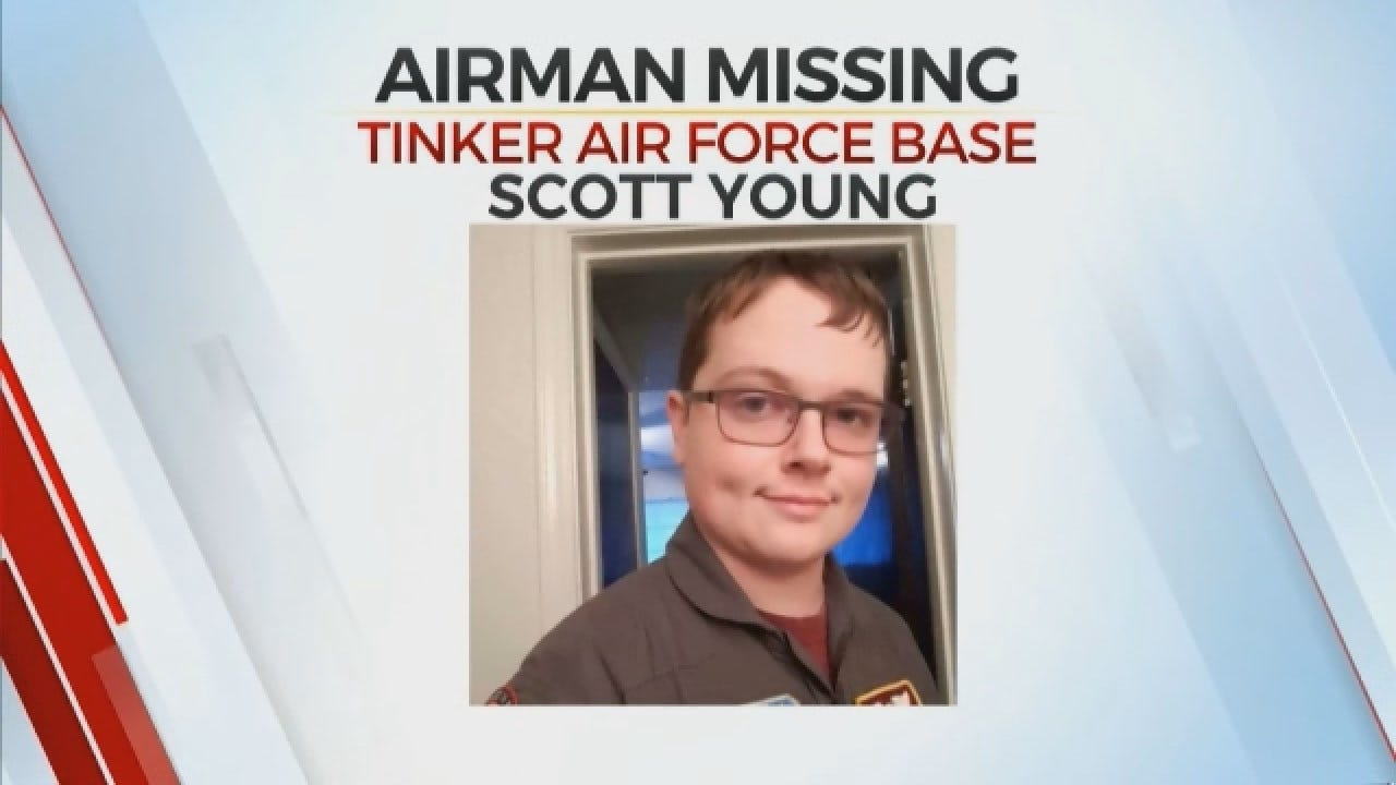 Tinker Air Force Base Searching For AWOL Airman