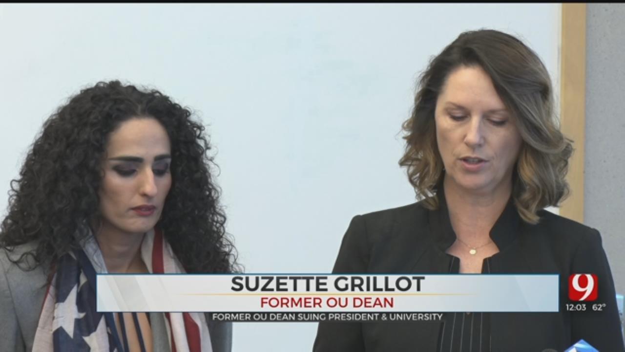 Former OU Dean Grillot Announces Intention To Sue University