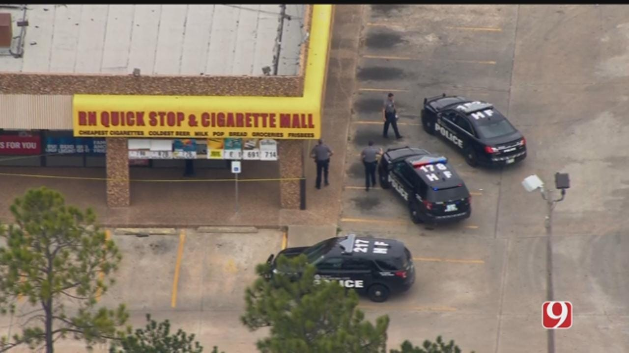 Clerk Shot During NW OKC Robbery, Police Say