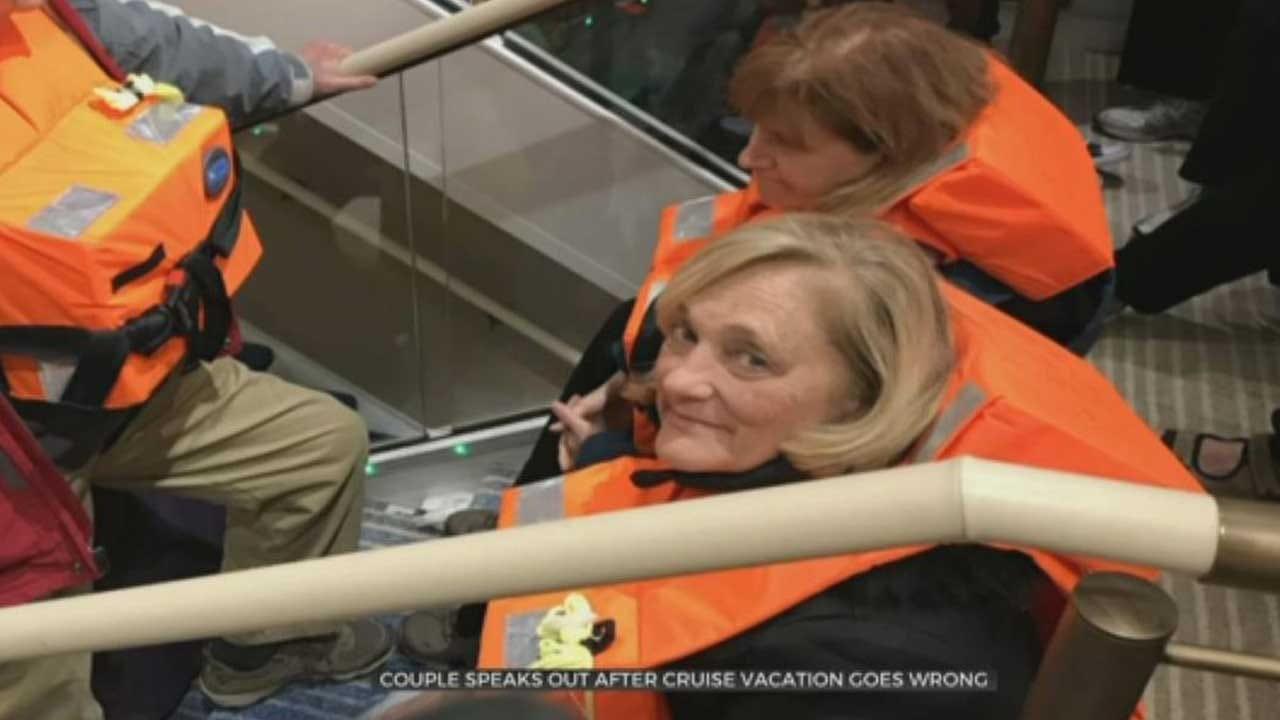 Oklahoma Couple Stranded On Norway Cruise Ship Describes Ship Rescue