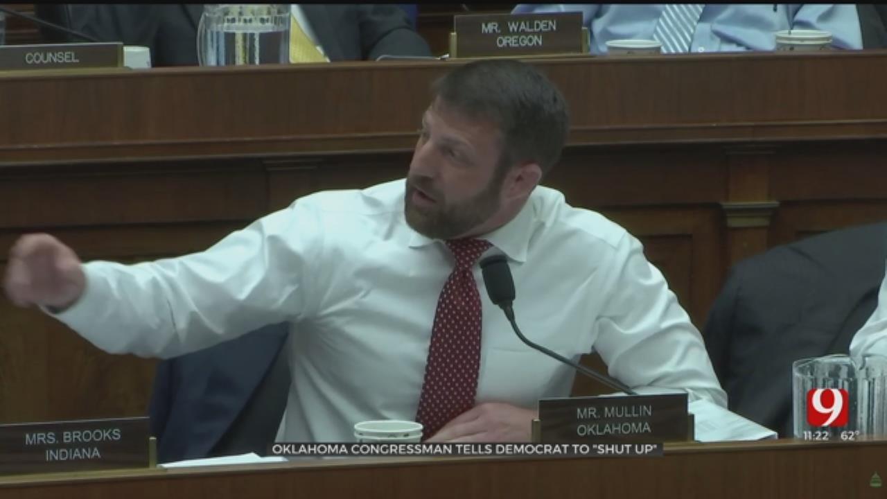 Oklahoma Congressman Facing Backlash After Telling Democrat To 'Shut Up'