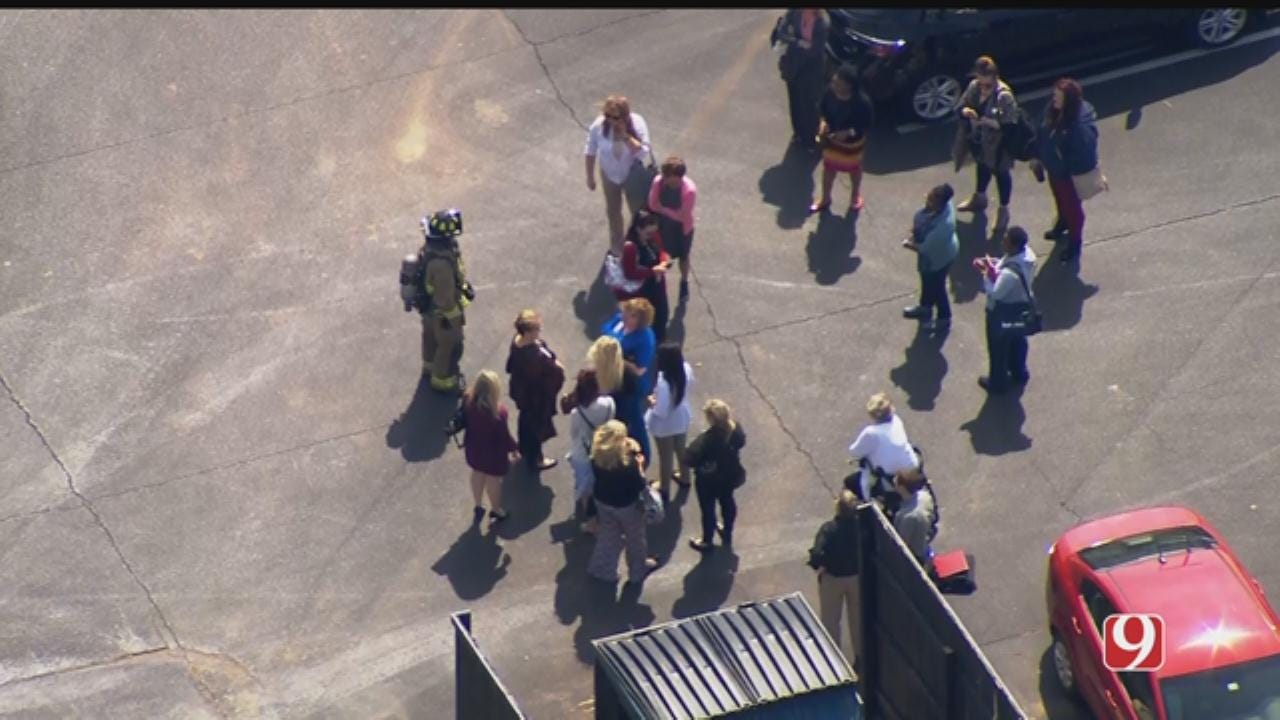 Bob Mills SkyNews 9 Flies Over 'Chemical Incident' In NW OKC