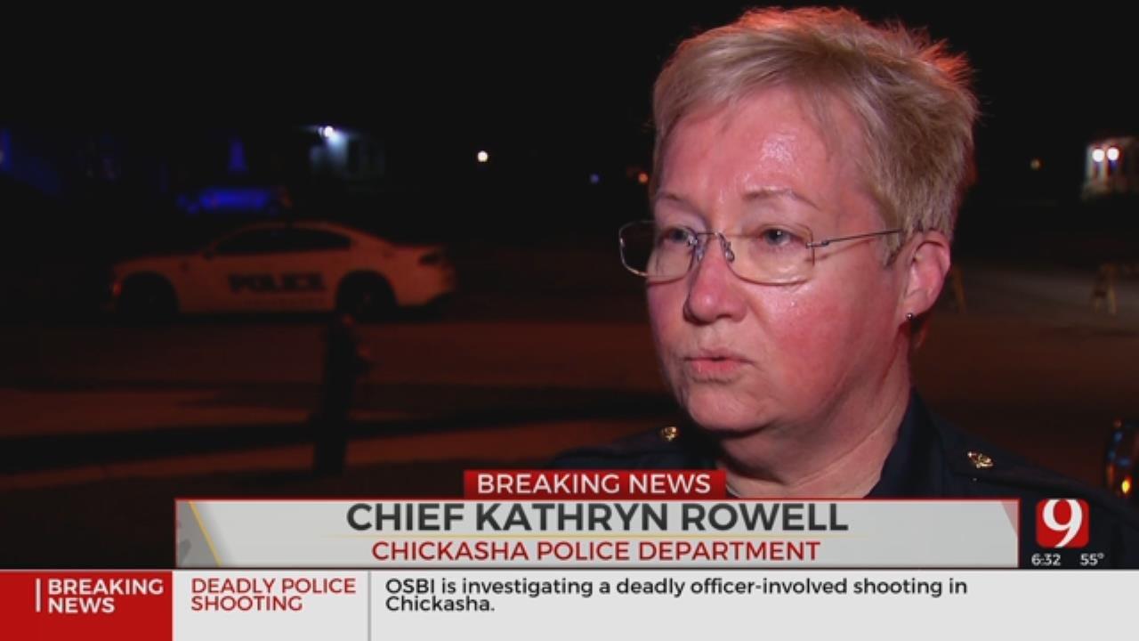 1 Dead In Chickasha Officer-Involved Shooting