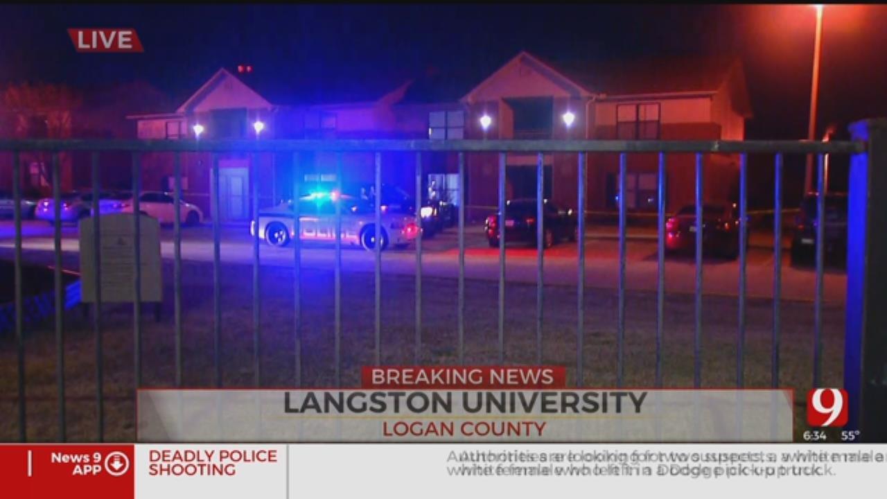 2 Taken To Hospital After Shooting At Langston University