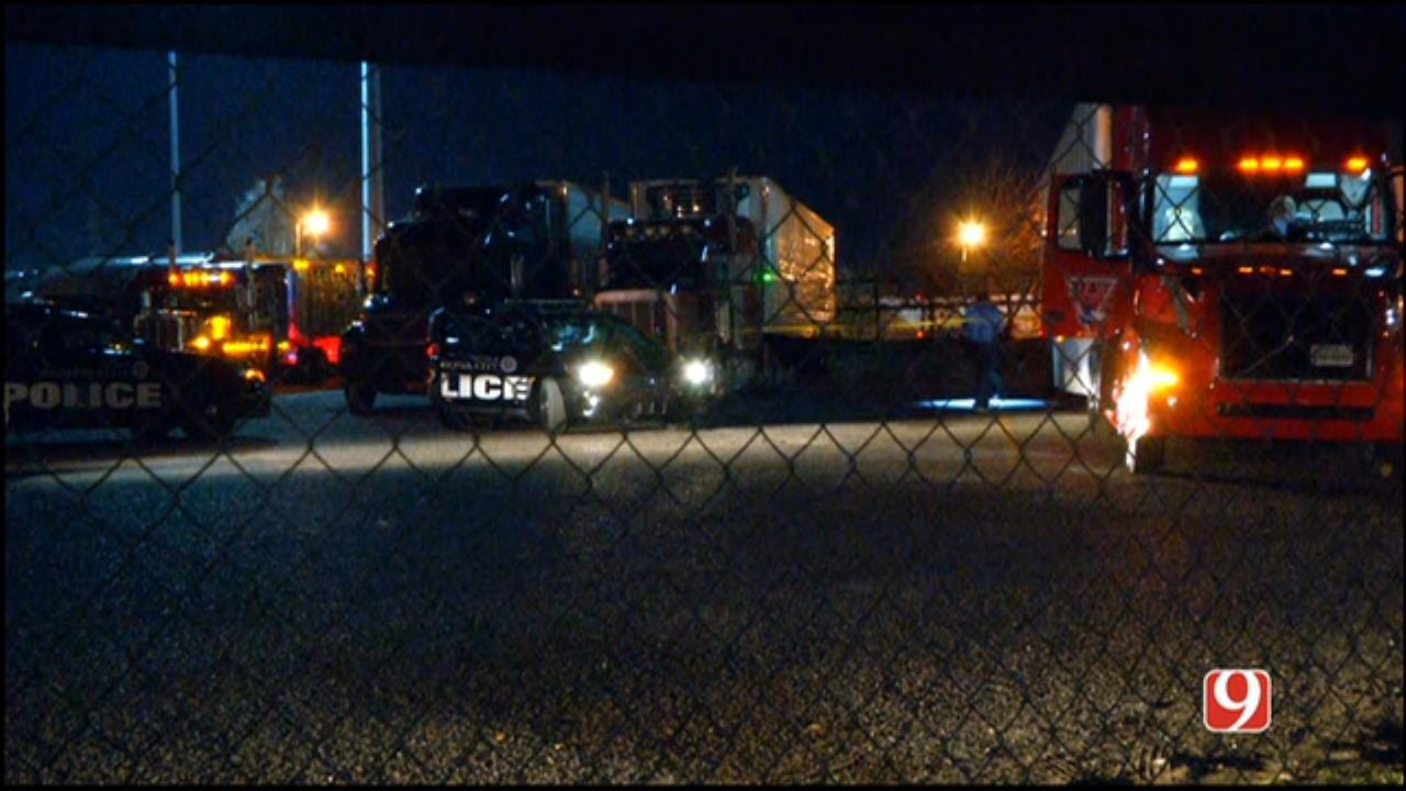 Police: 1 Victim Shot At SW OKC Truck Stop, 2 Suspects On-The-Run