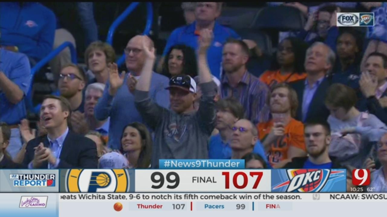 George Scores 31 Vs. Former Team, Helps Thunder Top Pacers