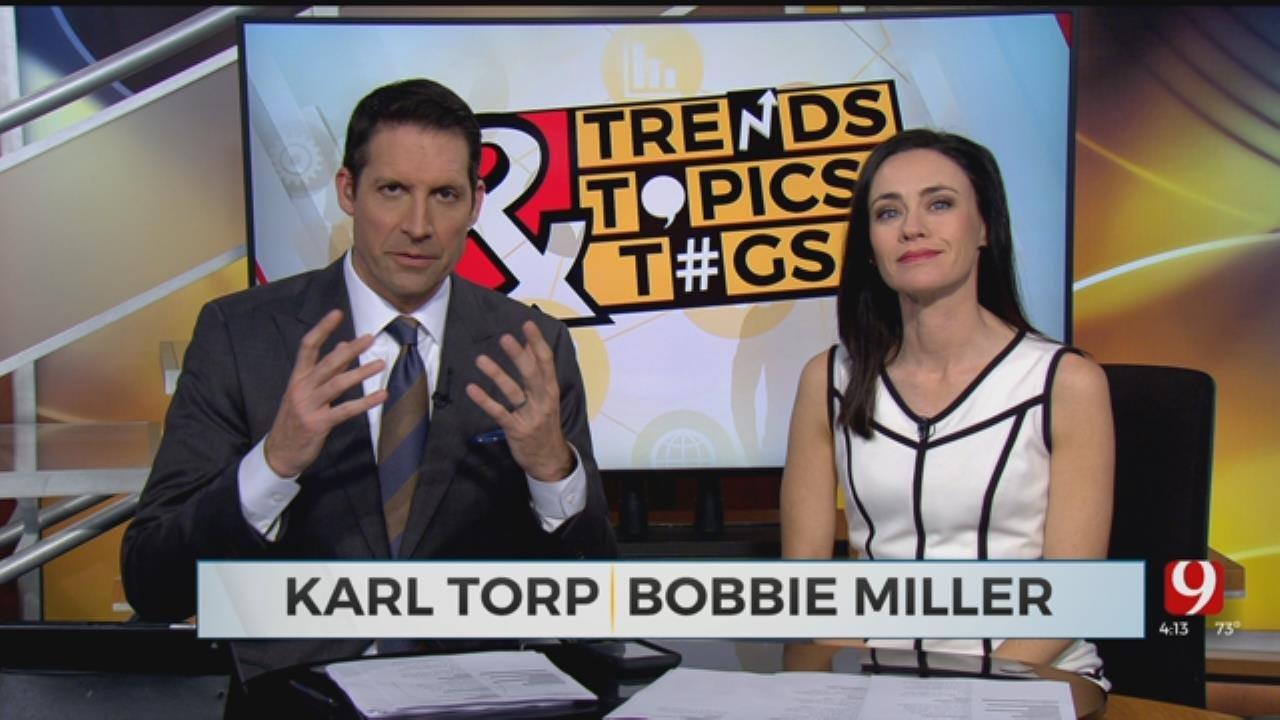 Trends, Topics & Tags: Robot Judge