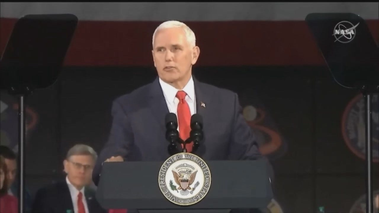 Vice President Pence Meets With National Space Council