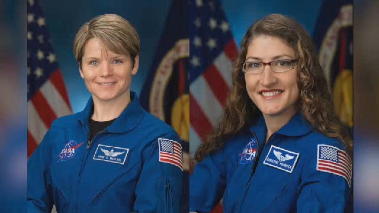 NASA Scraps 1st All-Female Spacewalk Over Lack Of Well-Fitting Spacesuits