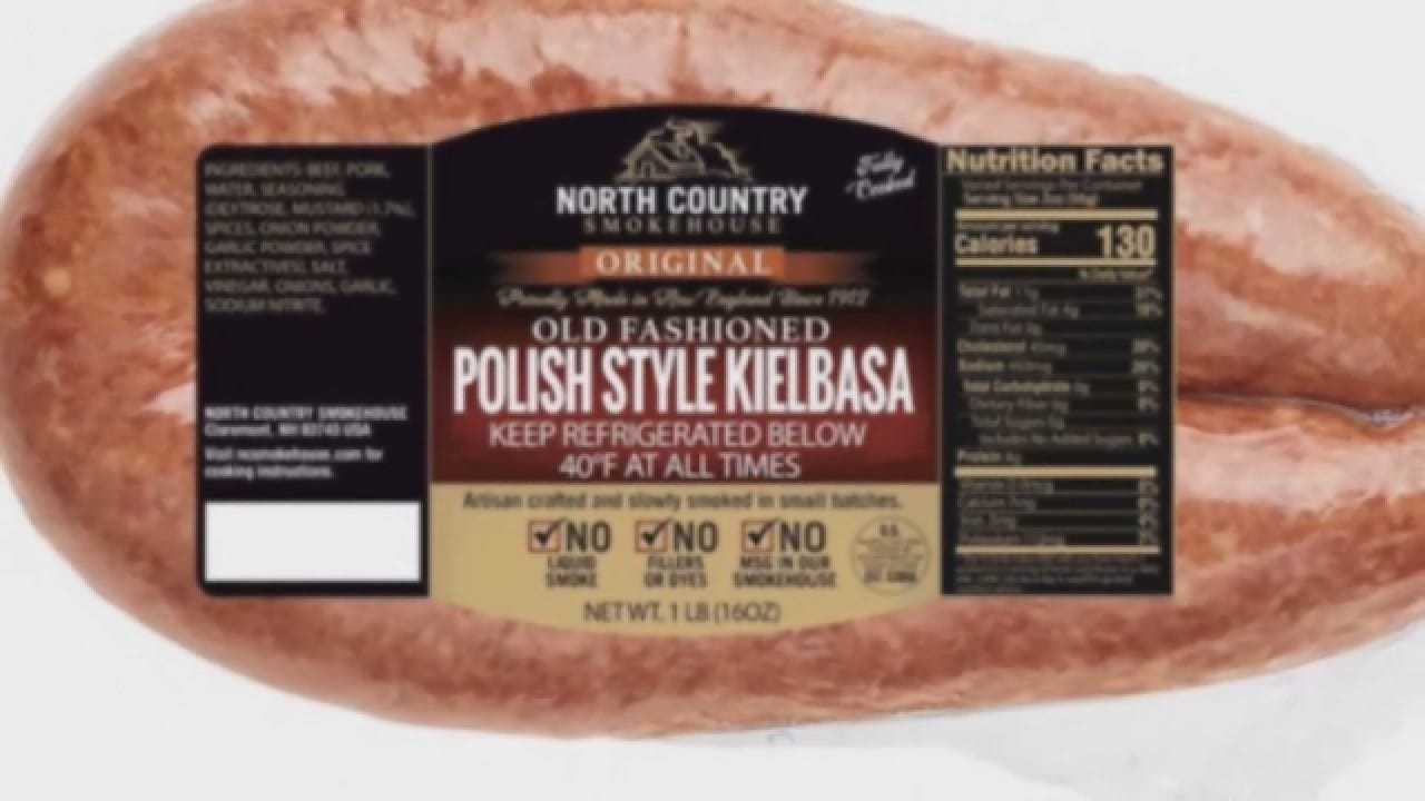 Sausage Products Recalled Over Possible Metal Contamination