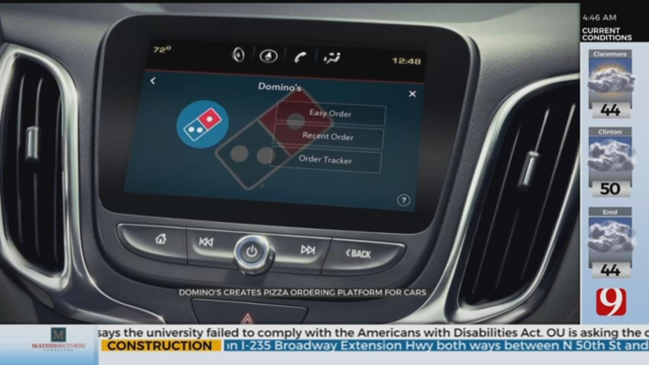 Domino's Creates Pizza Ordering Platform For Cars