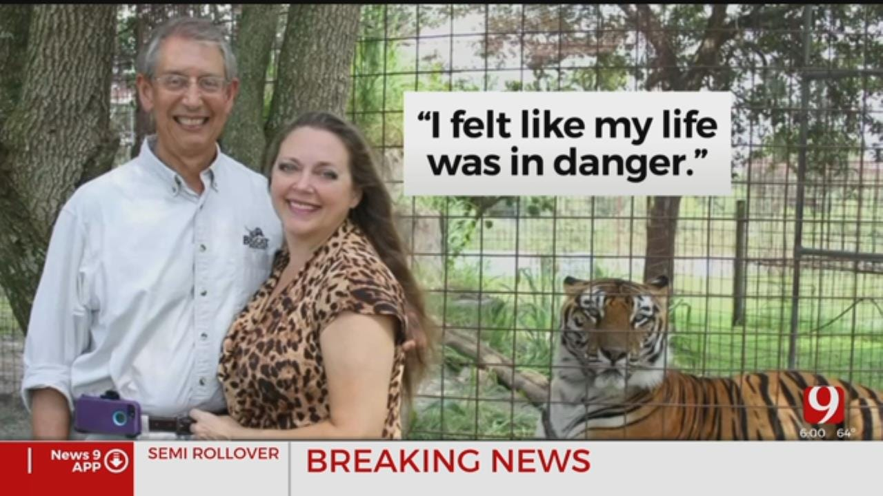 The Woman Allegedly Wanted Dead Takes Stand In Joe Exotic Trial