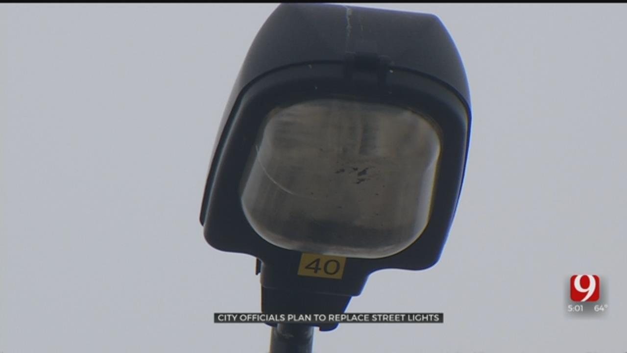 OG&E Hopes To Have Vandalized Street Lights Working By Summer