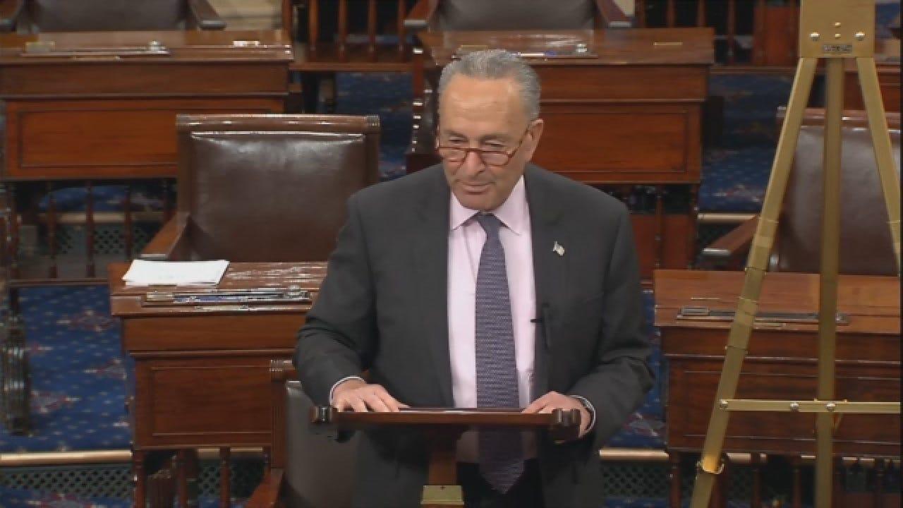 Senate Minority Leader Chuck Schumer Blasts Trump Administration Over Obamacare