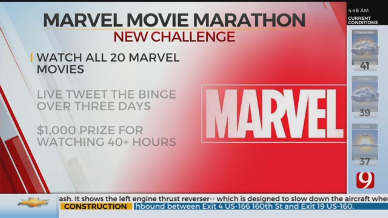 Marvel Movie Super Binge Challenge