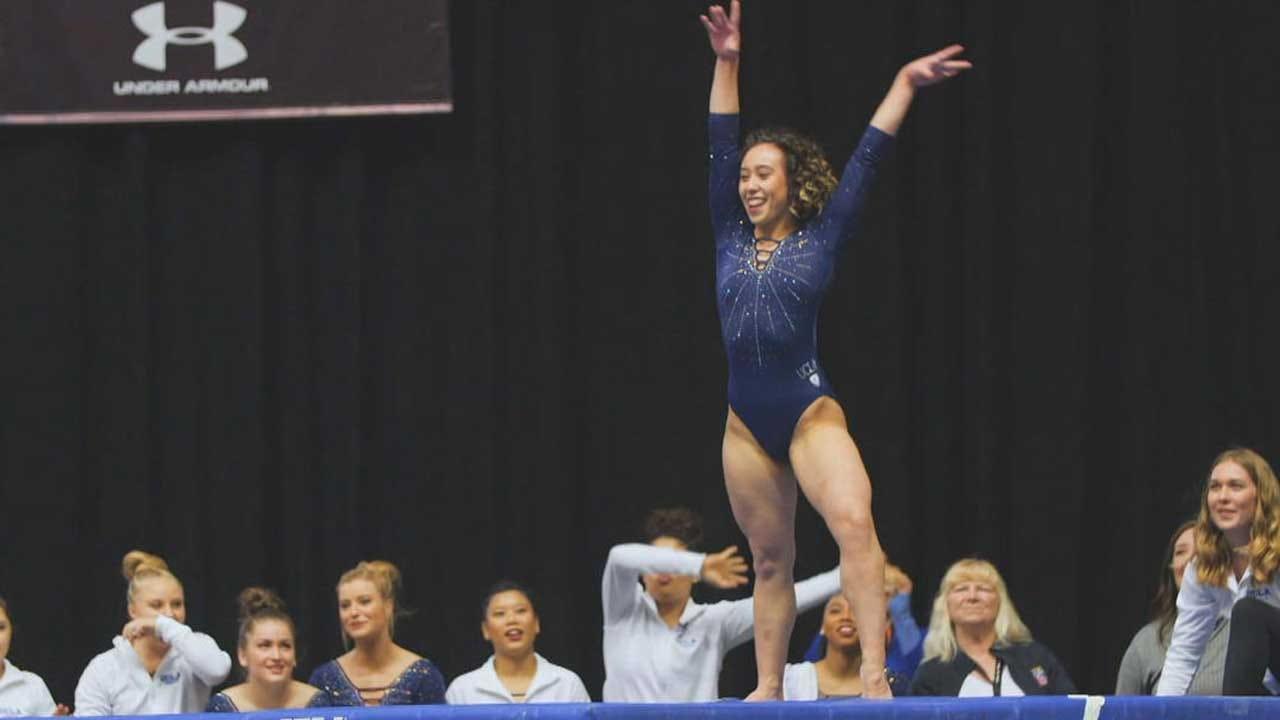 UCLA Gymnast Becomes Internet Sensation