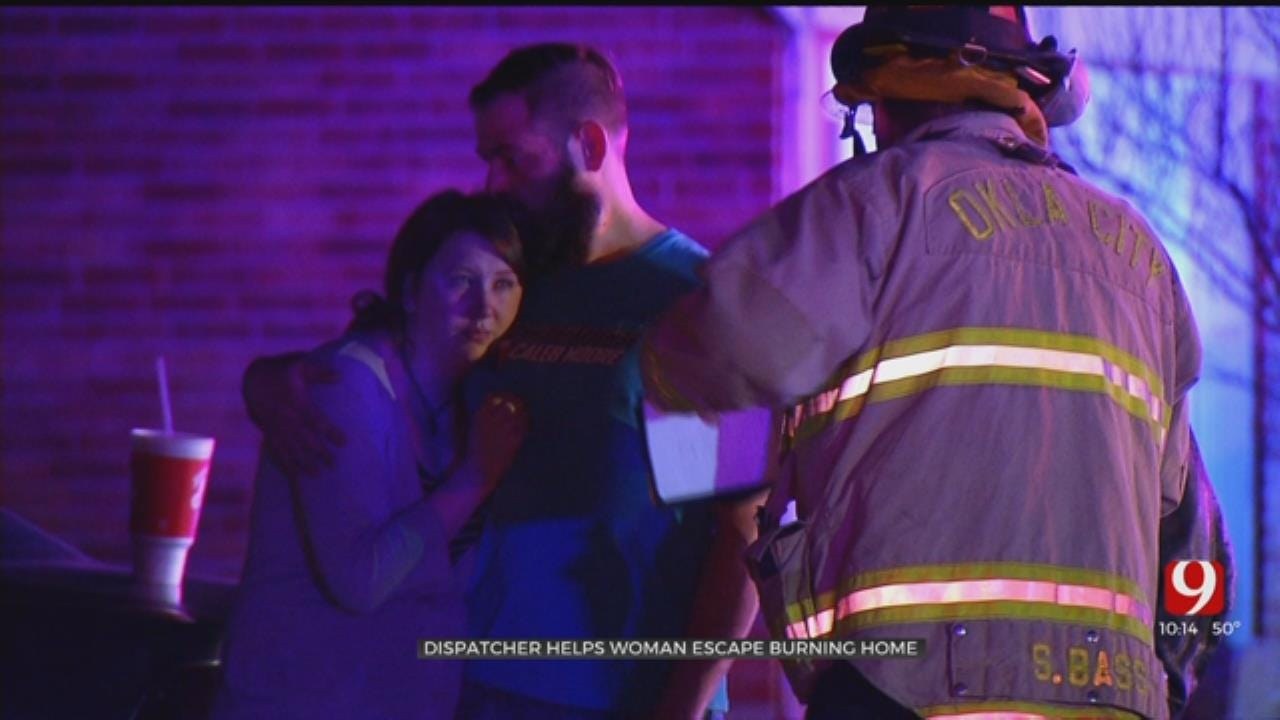 911 Operator Helps Woman Escape From Yukon House Fire