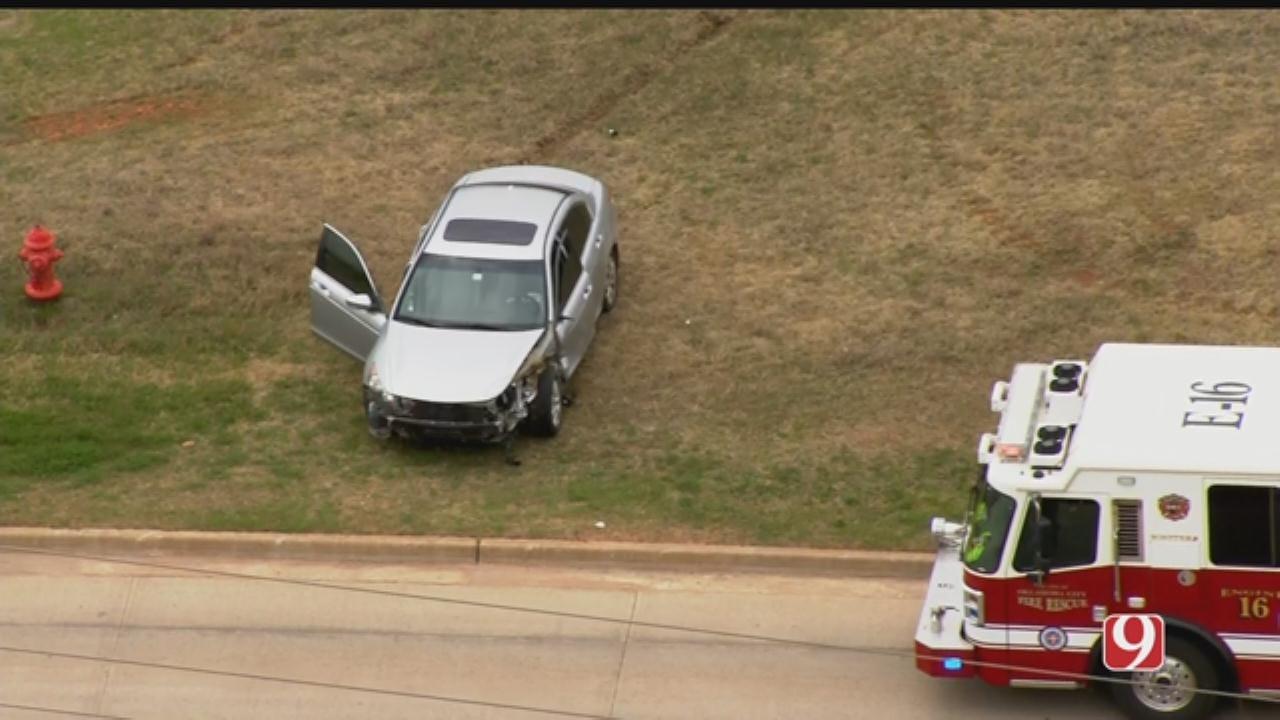 Crews Respond To Crash Involving Semi In Oklahoma City