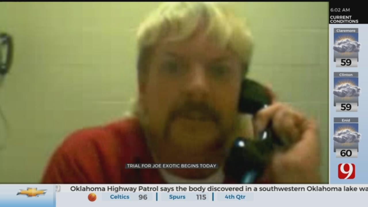 Trial For Joe Exotic To Begin Monday