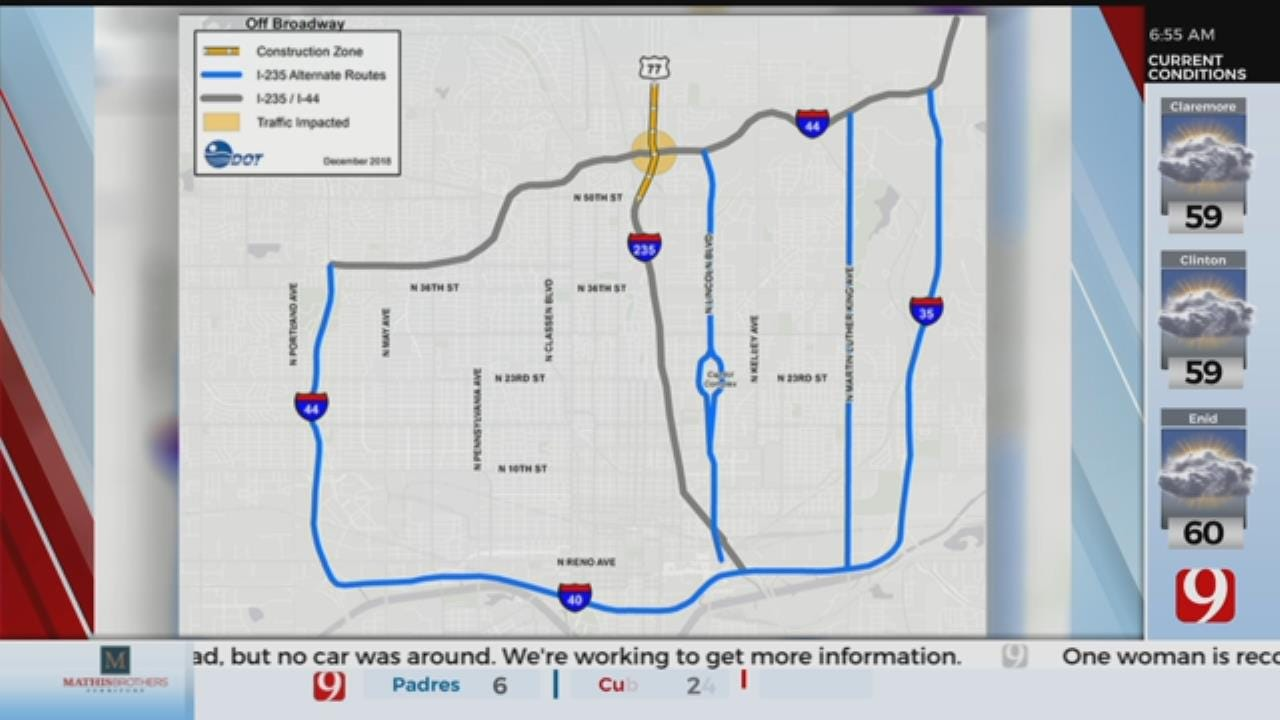 Off-Broadway Construction To Begin Monday