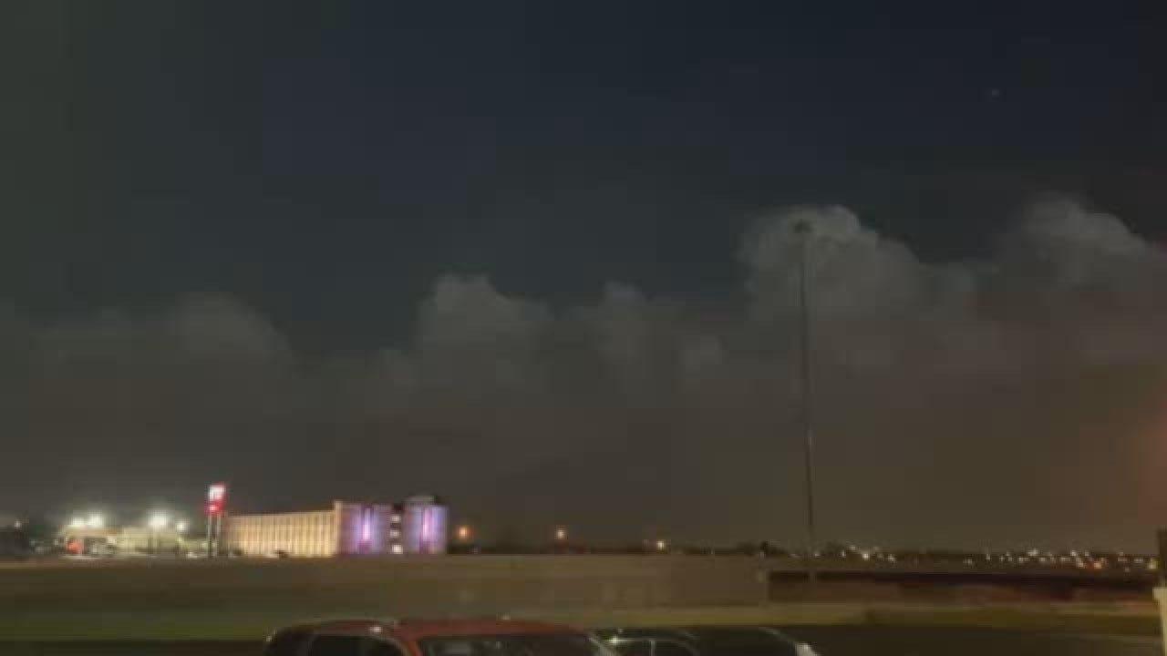 Viewer Video: Lightning Storm Near Downtown Oklahoma City