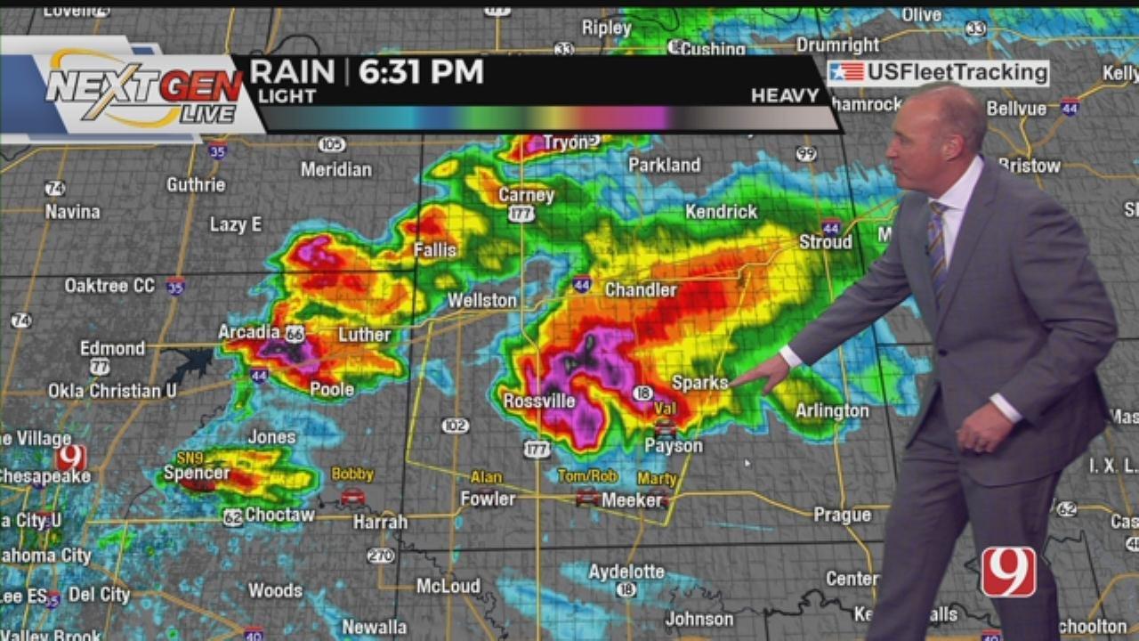 David Payne's 6:45 P.M. Severe Weather Update