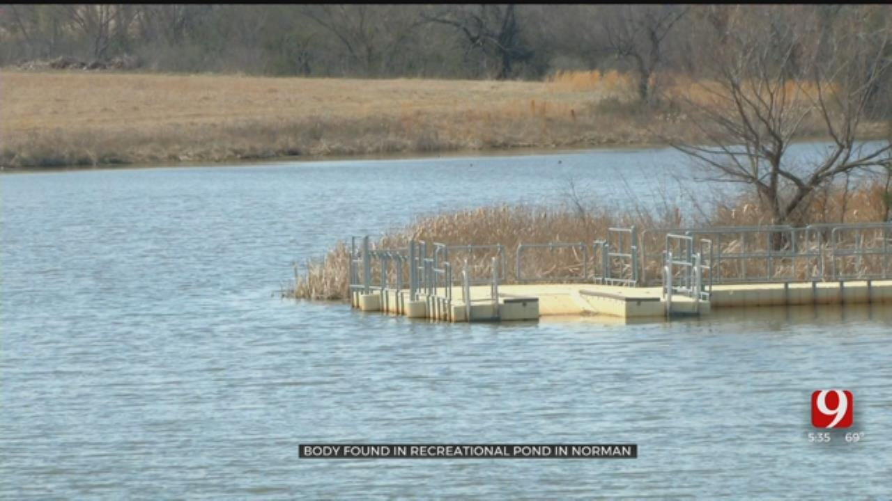 Authorities Working To Identify Body Discovered In Recreational Pond In Norman