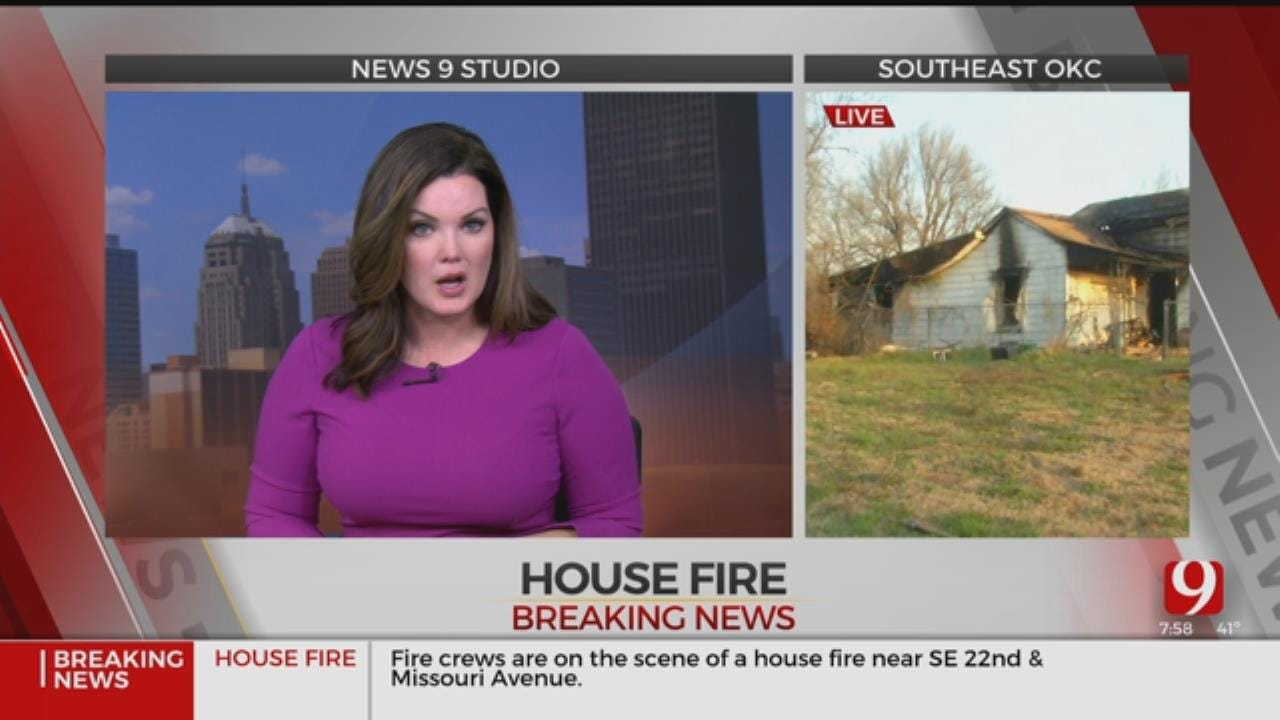 8 Injured In SE Oklahoma City House Fire