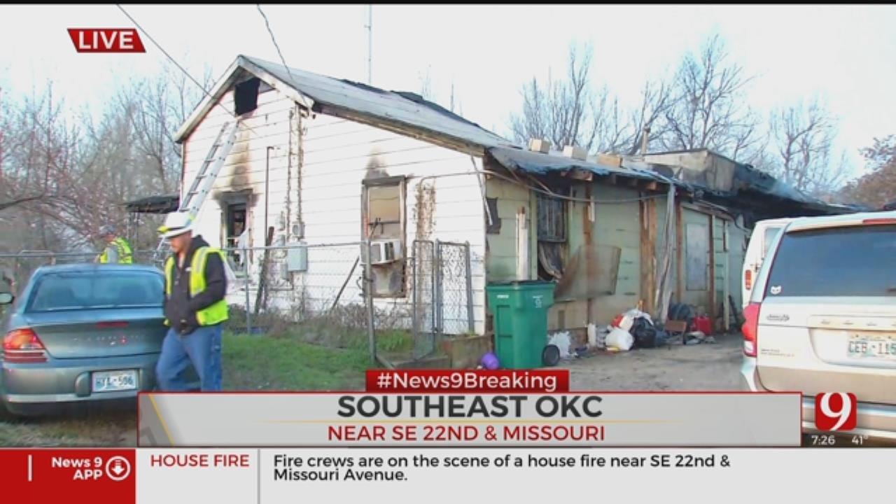 Multiple Injured In SE OKC House Fire