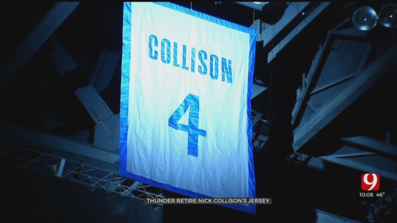 Oklahoma City Thunder Retires Nick Collison's Jersey