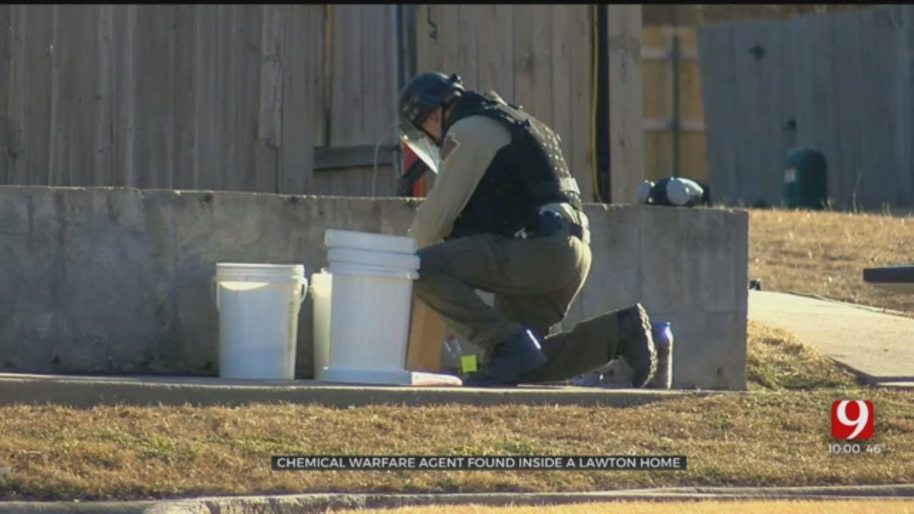 FBI Investigation Finds Chemical Warfare Agent Inside Lawton Home