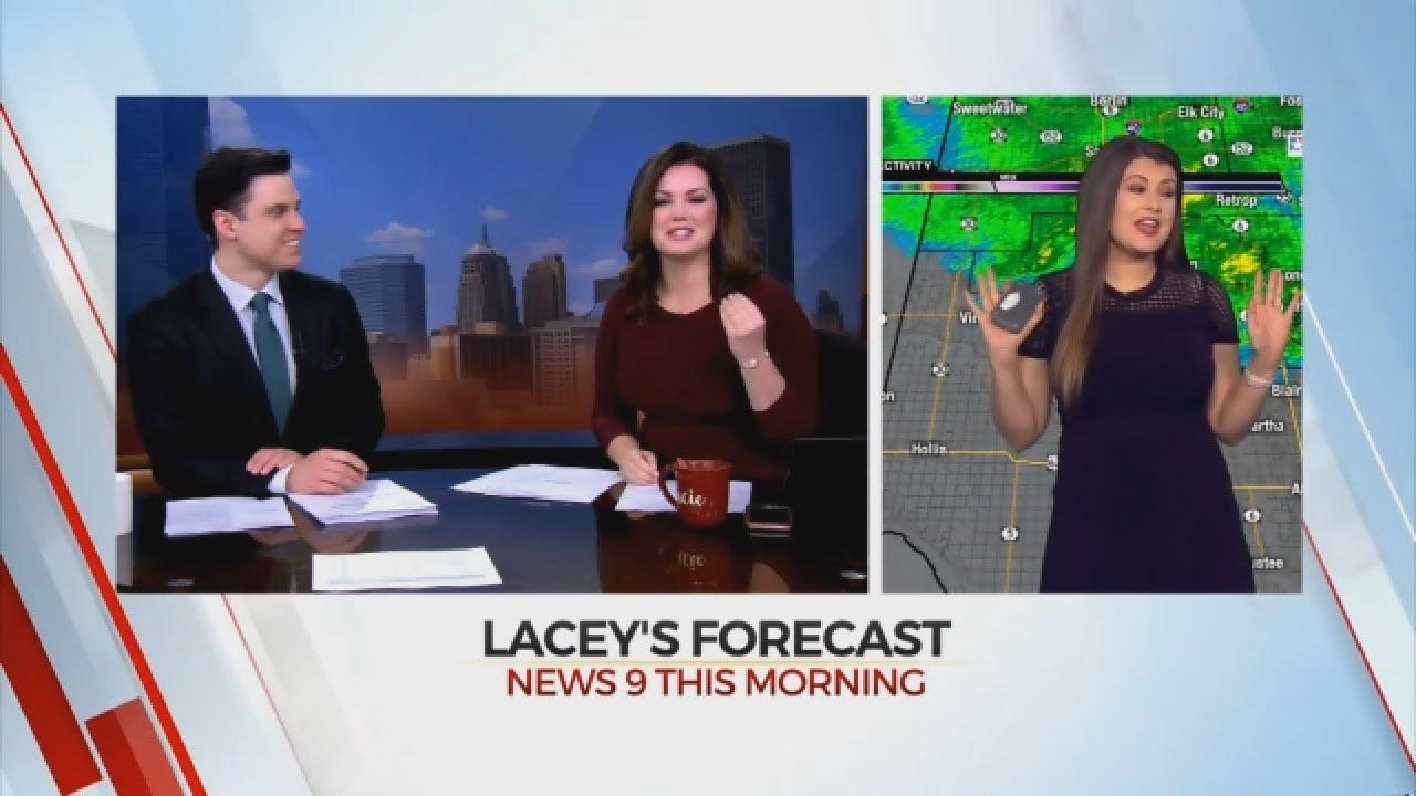 WATCH: Lacey Swope Accidentally Calls Vinson Venison