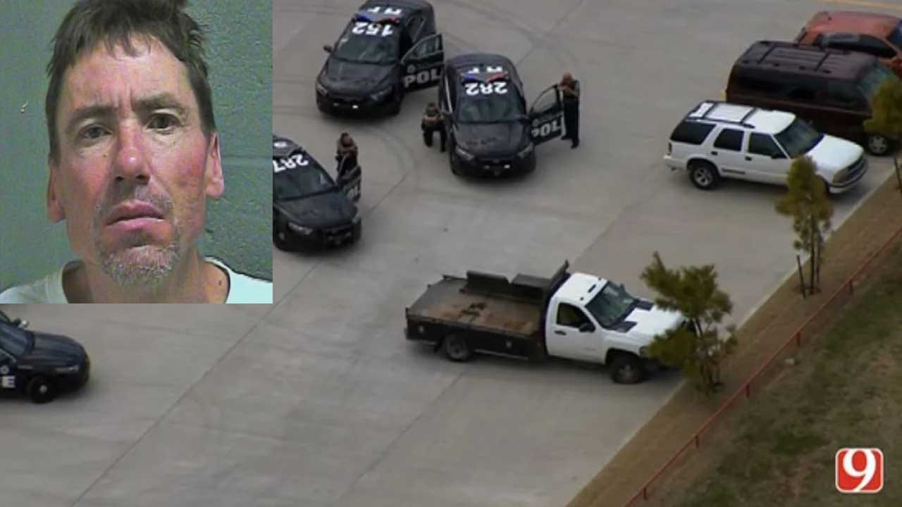 Suspect Wanted In Texas Arrested In Oklahoma City