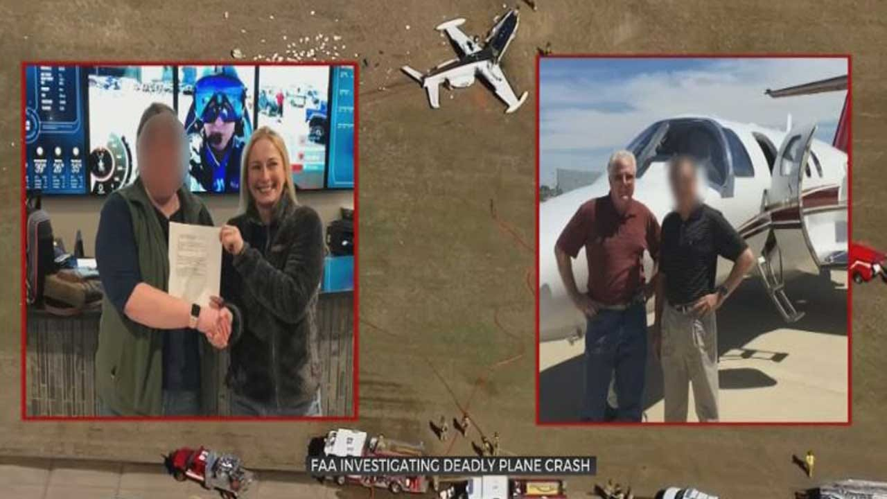 Pilots Respond After OKC Plane Crash Kills Two Of Their Own