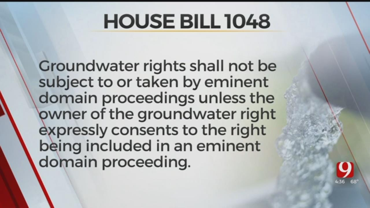 Bill To Protect Water Rights Passes In State Senate Committee
